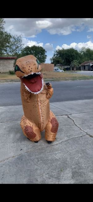 Kids trex blowup costume for Sale in San Antonio, TX