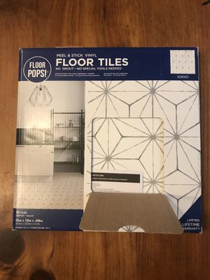Modern peel and stick floor tiles for Sale in Minneapolis, MN
