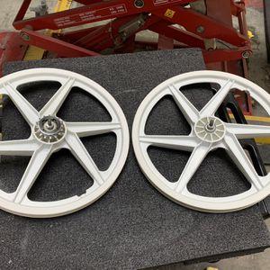 GT Performer OGK White Mags for Sale in San Bernardino, CA