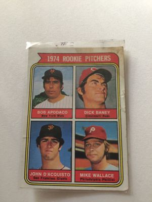 Baseball Card No. 608 1974 Rookie Pitchers for Sale in Schaumburg, IL