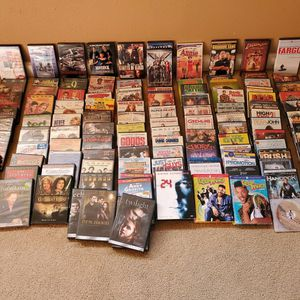 114+ DVD's, wide variety, sold together for Sale in Olalla, WA