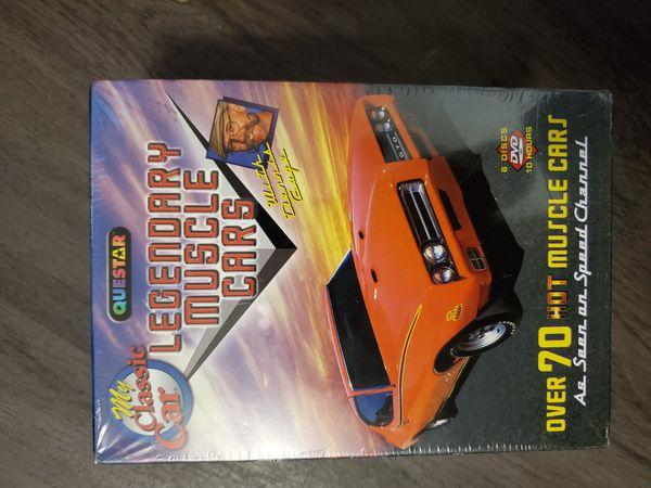 Legendary Muscle Cars (DVD).