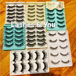 70 Eyelashes 35 pairs for Sale in Stanton, CA