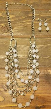 White Bead Jewelry Set for Sale in Westminster, CO
