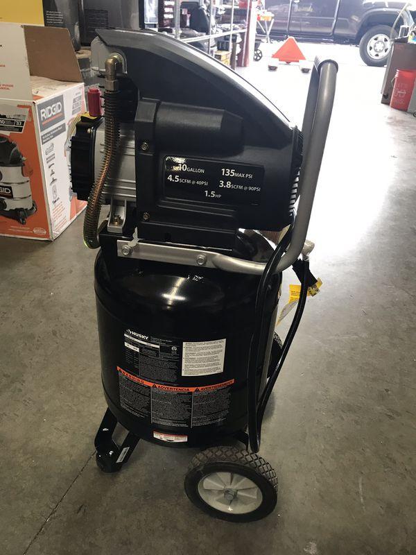 Husky 10 Gal. Portable Electric Air Compressor