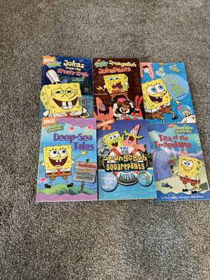 S6 SpongeBob SquarePants Joke Books/Chapter Books for Sale in Idaho Falls, ID