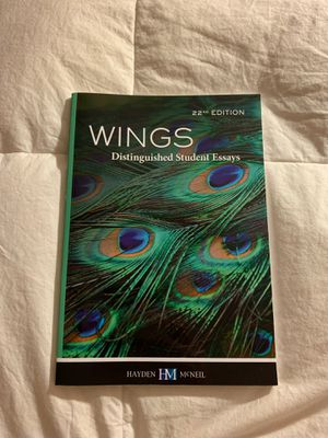 WINGS Distinguished Student Essays 22nd Edition for Sale in Los Angeles, CA