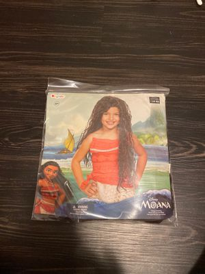 Brand new Disney Moana Deluxe Child Wig for Sale in Walnut, CA