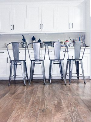 COUNTER HEIGHT BAR STOOLS SET (4) for Sale in Chino, CA