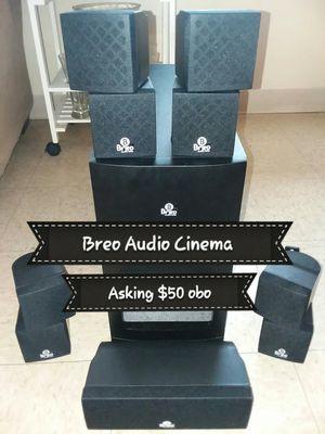 10 piece Breo Audio Labs Digital Cinema for Sale in Lexington, KY