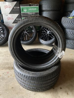 Pirreli P zero 295/35r 21 rear tires *BRAND NEW NEVER USED* for Sale in Akron, OH