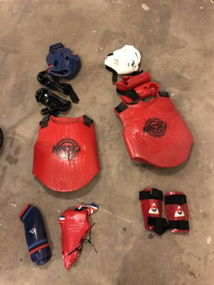 sparring gear. set of two. for Sale in Fresno, CA