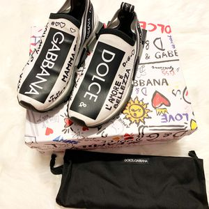 Dolce And Gabbana Grafitti Print Sneakers for Sale in Baltimore, MD