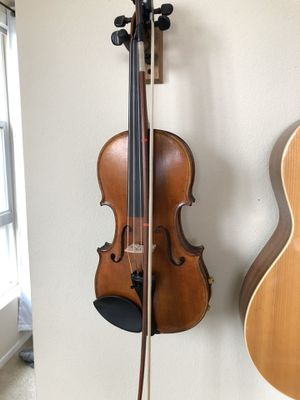 Doetsch 4/4 violin with bow, rest, practice mute and case! for Sale in Alameda, CA