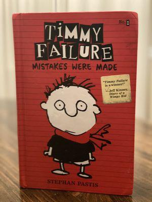 Timmy Failure Mistakes Were Made Book - Hardback for Sale in Virginia Beach, VA