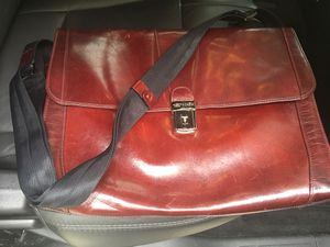 Bosca messenger leather bag for Sale in North Potomac, MD