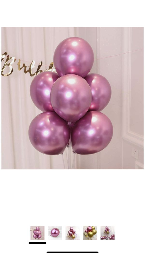 50 pc pink balloons