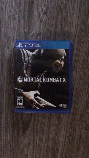 Mortal Kombat X for Sale in Santa Ana, CA