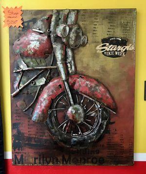 Sturgis Bike Week Metal Art for Sale in Lake Worth, FL