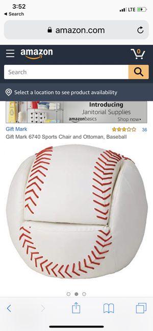 Baseball kids chair for Sale in Buckeye, AZ