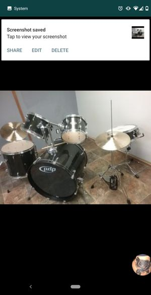 Pdp Center stage Drum set by DW for Sale in Ferndale, WA