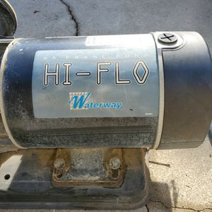 Waterway Pool/pump Motor. Located In Pomona. Hablo Español for Sale in Chino Hills, CA