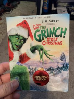 The grinch Blu-ray for Sale in Sarasota,  FL