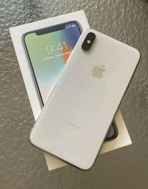 iPhone X 64 G. Unlocked great condition for Sale in Orlando, FL