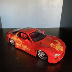 Fast And Furious 1:24 93 Mazda RX-7 for Sale in Hayward, CA