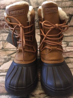 London Fog Snow Rain Fleece Lined Duck Boots Girls Size 3 for Sale in Baltimore, MD