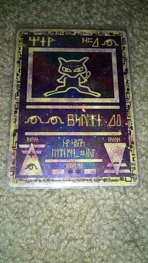 Pokemon Ancient Mew foil for Sale in Murrieta, CA
