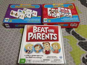 Knowledge games for kids for Sale in Atlanta, GA