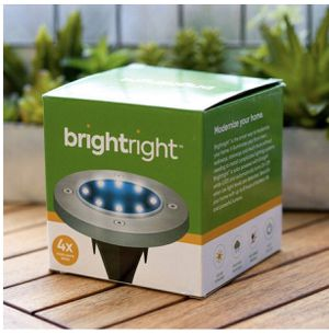 Outdoor Solar Fisk Lights by Brightright for Sale in Montgomery Village, MD