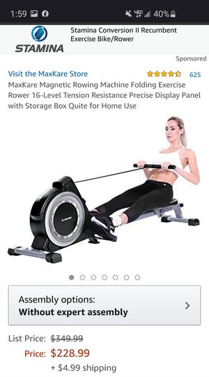 MaxKare rower for Sale in Aberdeen, NC
