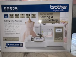 Brother SE625 Computerized Embroidery and Sewing Machine for Sale in New Brunswick, NJ