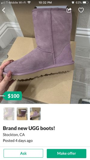 Ugg size 8 for Sale in Sacramento, CA