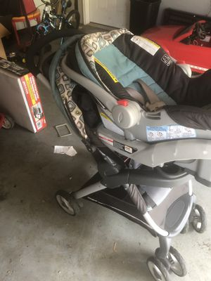 Stroller and baby car seat for Sale in Bloomington, IN