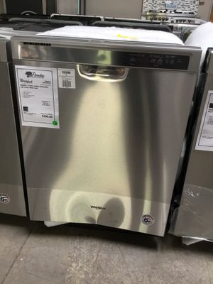 New!! Whirlpool Stainless Steel Dishwasher w/ 1 Hour Wash Cycle for Sale in Gilbert, AZ