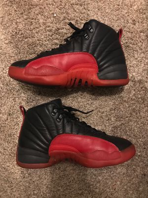 *RARE* Air Jordan 12 Flu Game 1997 release size 11.5 for Sale in Greensboro, NC