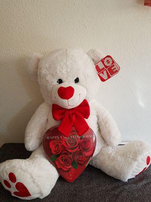 White teddy bear for Sale in Santa Ana, CA