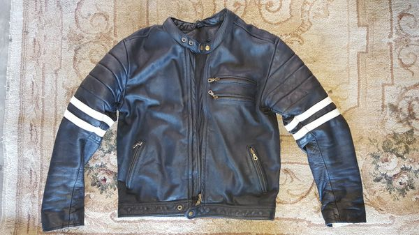 Cafe racer motorcycle jacket