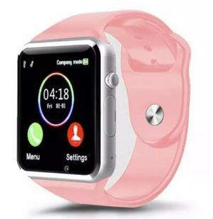 PINK Smart Wrist Watch A1 Camera Bluetooth GSM Phone For iPhone Android Samsung LG for Sale in Los Angeles, CA