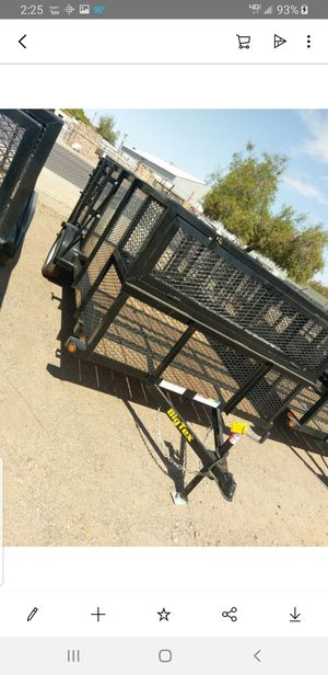 77x14 landscape trailer. for Sale in Laveen Village, AZ