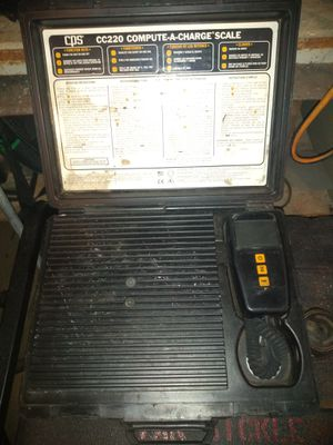 CPS refrigerant scale. Good condition. Works. for Sale in Glendale, AZ