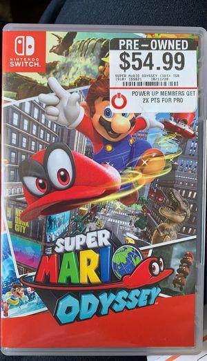 Super Mario Odyssey for Sale in Phoenix, AZ