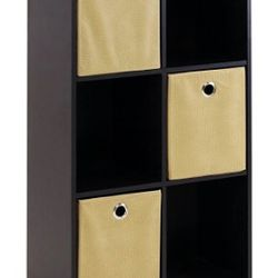 Petite Storage Organizer Bookcase With Bins for Sale in Alpharetta, GA