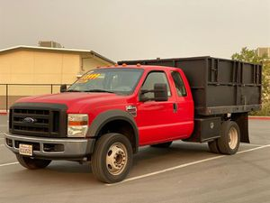 2008 Ford F450 Super Duty Super Cab & Chassis for Sale in Tracy, CA