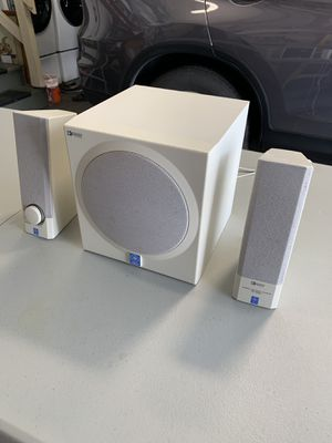 Yamaha YST-MS201 Subwoofer & Computer Speakers - Adjustable Bass, Tested for Sale in Daly City, CA