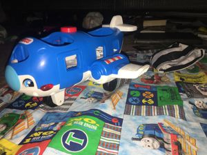 Fisher Price (music playing , air plain sound making, kids talking about planes and flying etc (all kinds of sound options) for Sale in La Vergne, TN