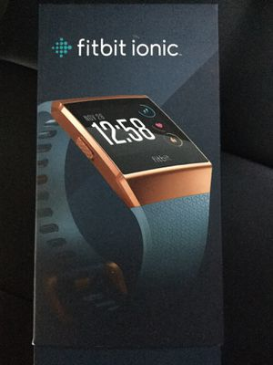 Fitbit Ionic watch - New in box for Sale in Lynnwood, WA